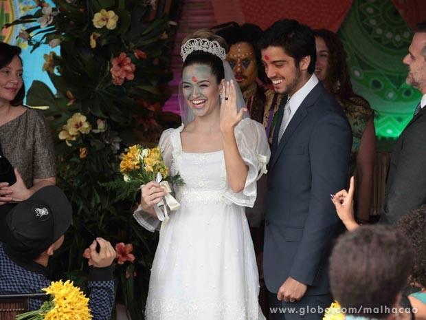 Casamento #Brutinha  (Foto: Malhação / TV Globo)