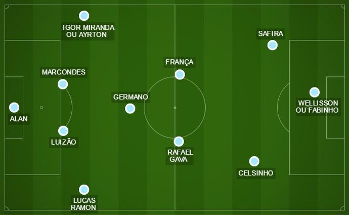 Londrina campinho Copa do Brasil (Foto: Arte/GloboEsporte.com)