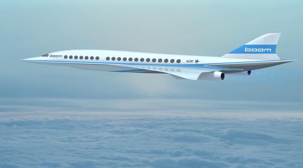 Projeto do avião da Boom (Foto: Divulgação)