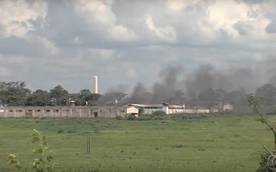 Presídio de Aparecida de Goiânia, em Goiás (Foto: Reprodução)