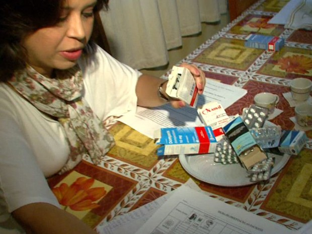 """Alguns remédios são distribuídosgratuitamente pela """"Farmácia Popular"""" (Foto: Reprodução/EPTV)"""