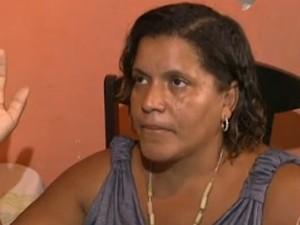 pais de bebê falam sobre morte com chumbinho (Foto: Reprodução/TV Bahia)