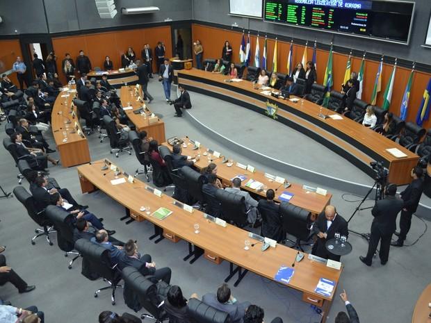 Por mês, deputados de Roraima ganham cerca de R$ 164,9 mil (Foto: Inaê Brandão/G1 RR)