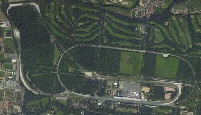 Circuito de Monza, palco do GP da Itália
