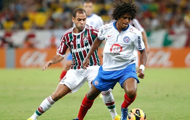 Wiliam Barbio jogo Fluminense e Bahia (Foto: Ivo Gonzalez / Agencia O Globo)