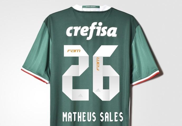 e0ac2e2cf1f29 Palmeiras apresenta novo uniforme com dois tons de verde  veja foto