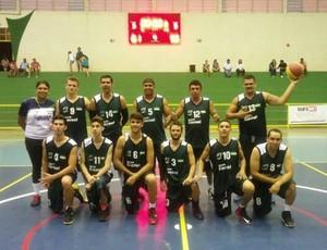 Equipe de basquete de Cacoal, no JIR (Foto: Amec/Divulgação)