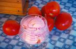 Receita curiosa: aprenda a fazer sorvete de tomate (Arte / RPC)
