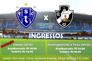 Ingressos Paysandu (Foto: Reprodução/Twitter)