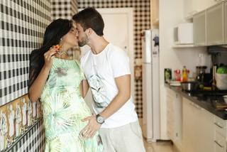 Rafael Licks e Talita Araújo (Foto: Marcos Serra Lima / EGO)