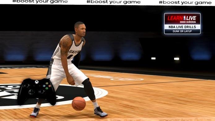 NBA Live 15: dicas para mandar bem no game (Foto: reprodução/Murilo Molina)