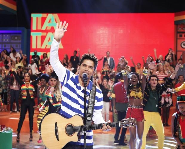 Banda Natiruts também vai se apresentar no programa neste domingo (Foto: Divulgação/Rede Globo)