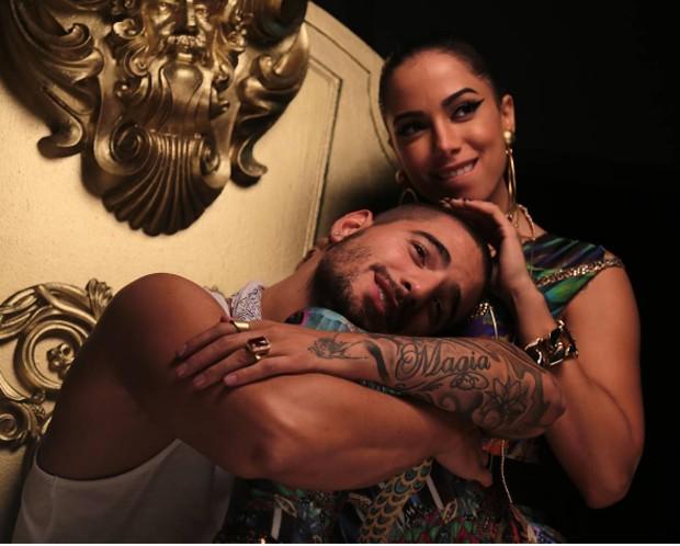 Anitta e Maluma (Foto: Reprodução)