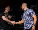 Em media day sem faíscas, atletas do UFC 211 apoiam desabafo de Spider