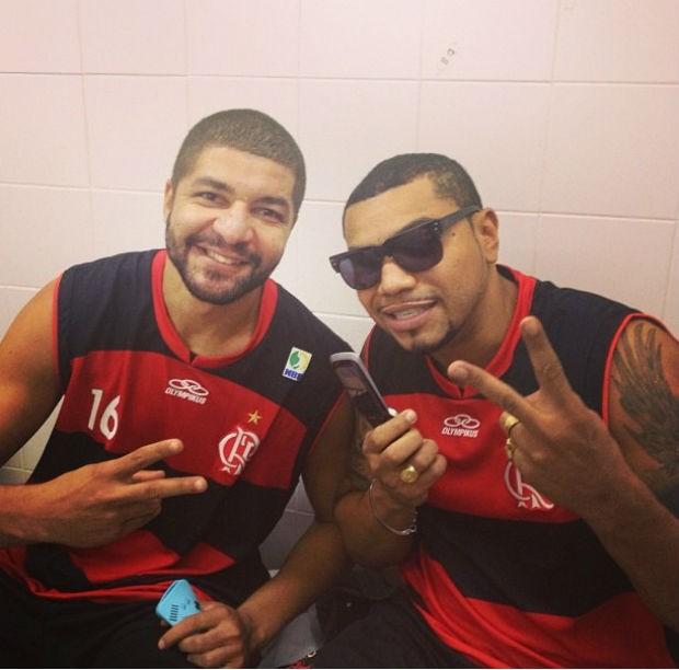 Olivinha Naldo basquete Flamengo (Foto: Reprodução/Instagram)