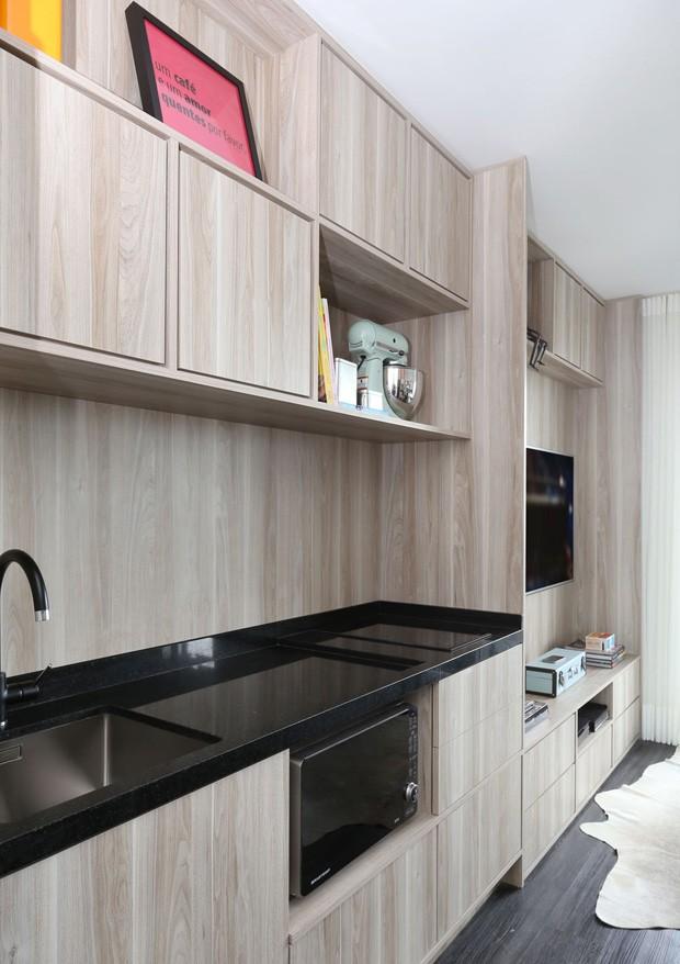 decoracao de ambientes pequenos e integrados : decoracao de ambientes pequenos e integrados:Decoração de apartamento pequeno com ambientes integrados – Casa e