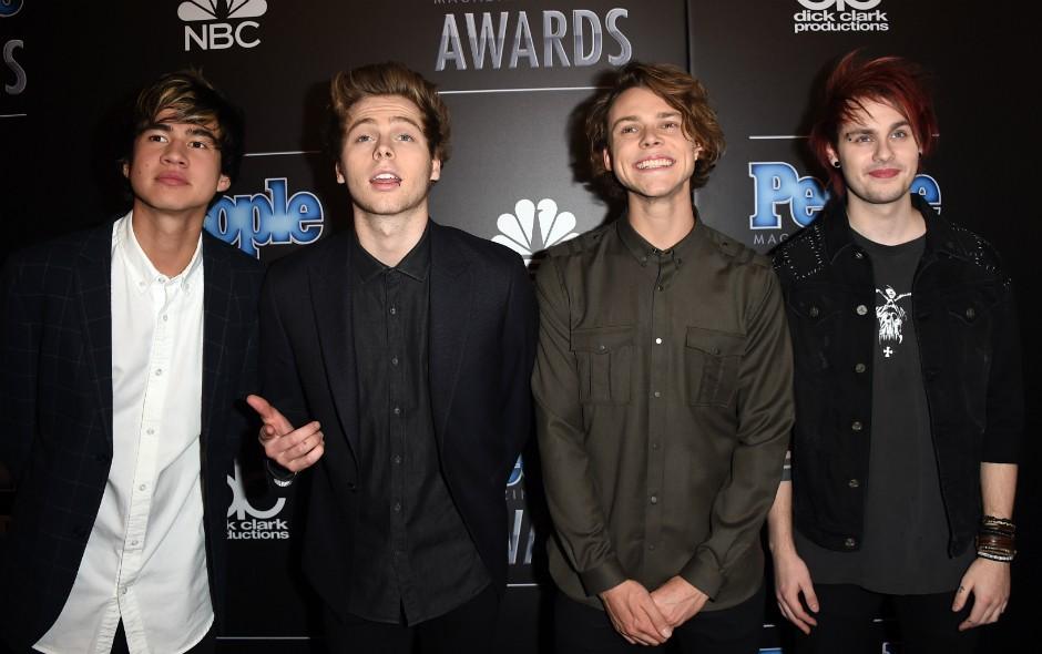 banda '5 Seconds of Summer' (Foto: Getty Images)