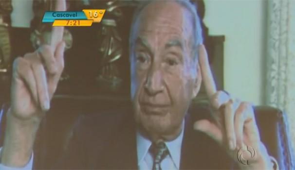Bom Dia Milton Luiz Pereira  (Foto: Reprodução/ RPC TV)