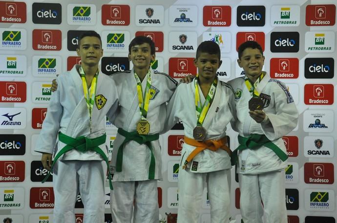 Judoca Écio Neto, prata na categoria meio médio (Foto: Divulgação/CBJ)