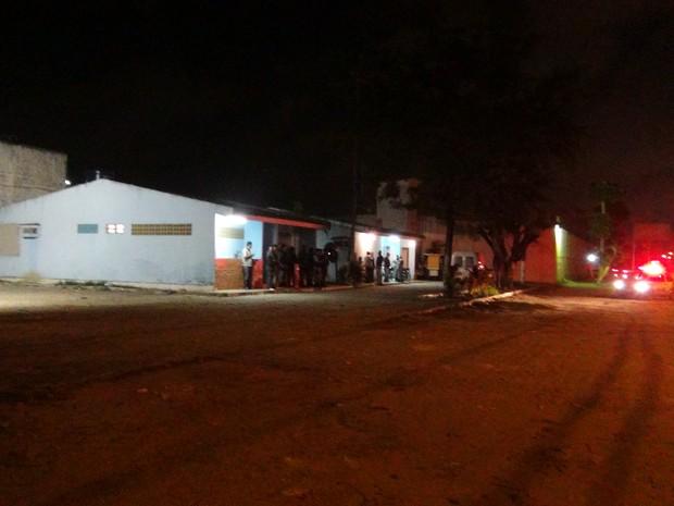 Polícia foi acionada durante motim. (Foto: Carolina Sanches/ G1)