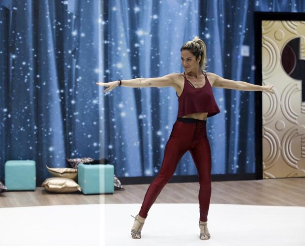 Beldade arrasa na reta final dos ensaios (Foto: Inácio Moraes/ TV Globo)