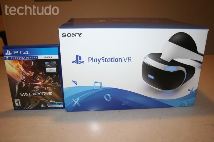 d8bb2cad4af2e Saiba como é e o que vem na caixa do PlayStation VR, aparelho para ...