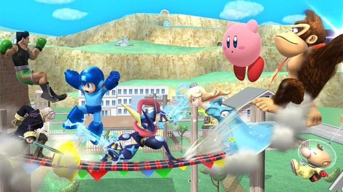 Batalhas de Super Smash Bros. para Wii U permitirão até 8 jogadores (Foto: My Nintendo News)