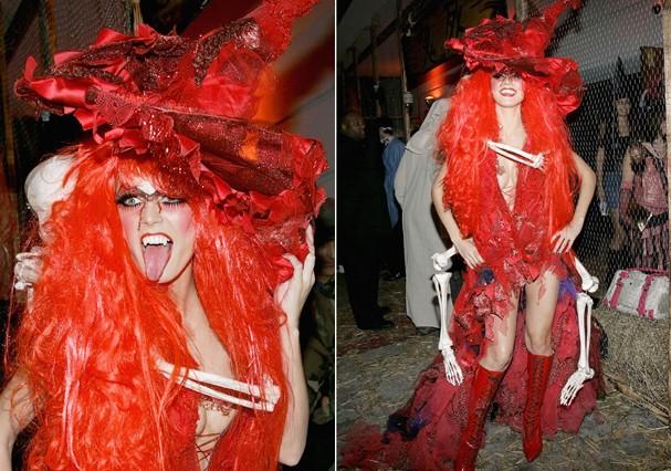 Heidi Klum no Halloween (Foto: Getty Imagem)