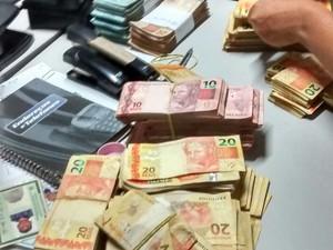 Bando é suspeito de arrombar dois bancos em José de Freitas (Foto: Divulgação/Polícia Militar)