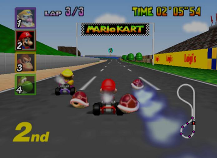 Mario Kart 64 (Foto: Divulgalção/Nintendo)