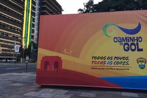 Caminho do Gol, Porto Alegre (Foto: Luiza Carneiro/Globoesporte.com)