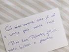 Gilberto Gil, internado em São Paulo, recebe bilhete de Rita Lee: 'Saia já daí'