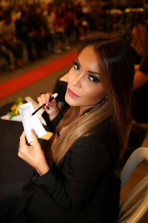 Karol Ka no Concurso Nabba Rio (Foto: Davi Borges / MF Models Assessoria )