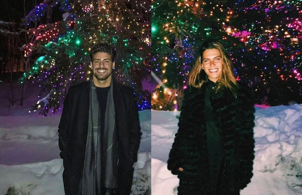 Cauã Reymond e Mariana Goldfarb posam no Festival de Sundance