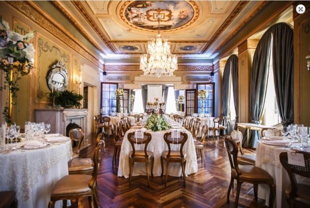 Castelo do Batel, em Curitiba, onde será realizado casamento de Marcela Queiroz (Foto: Reprodução / Site Castelo do Batel)