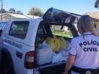 Polícia apreende 27 toneladas de alimentos e prende 16 pessoas no RS