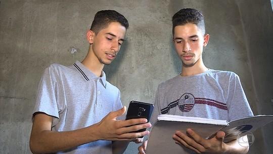 Gêmeos Jeiel e Junio desenvolveram aplicativo sustentável