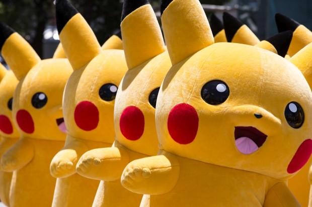Pikachus. Muitos Pikachus. (Foto: Foto: Tomohiro Ohsumi/Getty Images)