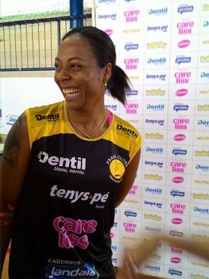 Daymi Ramirez Oposta Praia Clube Vôlei (Foto: Lucas Papel)