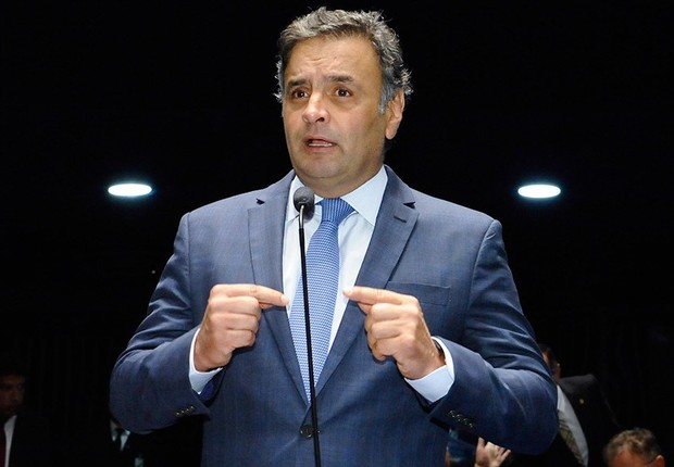 O senador Aécio Neves (PSDB-MG) (Foto: Waldemir Barreto/Agência Senado)