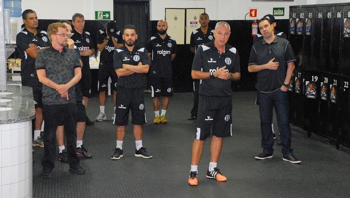Márcio Fernandes Técnico Treinador XV de Piracicaba Nhô Quim (Foto: Eduardo Castellari / XV de Piracicaba)