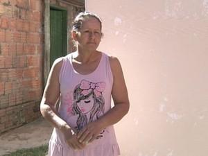 Mãe do ciclista espera que justiça no caso  (Foto: Reprodução / TV TEM)