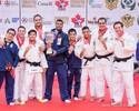 Brasil leva ouro por equipes entre os homens e é campeão geral do Pan
