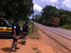 PRF aumenta fiscalização nas rodovias durante o feriado da Semana Santa (Foto: Assessoria/PRF/Divulgação)