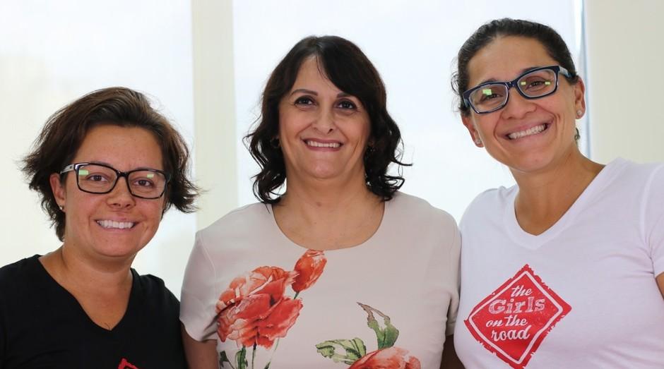 Fernanda Moura, Marcia Carvalheira, Taciana Mello (Foto: Divulgação)
