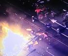 Curitiba: 30 são presos após vandalismo (Reprodução)