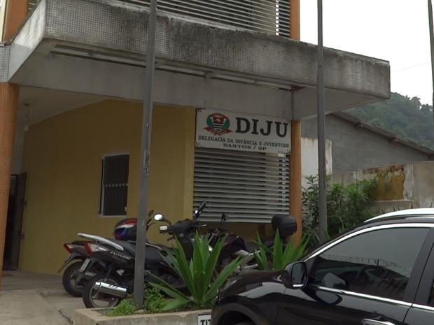 Caso foi encaminhado para DIJU, em Santos (Foto: Roberto Strauss/Arquivo Pessoal)