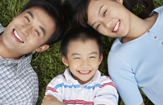 criança; pais; família; (Foto: Thinkstock)