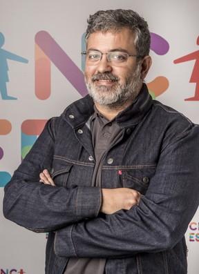 Rafael Dragaud, diretor da cerimônia do Grande Prêmio do Cinema Brasileiro (Foto: Globo/João Cotta)
