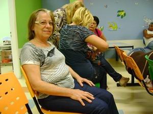Conceição faz acompanhamento médico (Foto: Alan Schneider / G1)